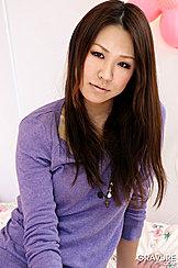 Long Hair Purple Sweater
