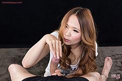 Matsumoto Rena Teasing Head Of Hard Cock Long Hair