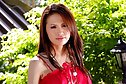 Thai girl Anna Kaew strips red top and shorts and spreads legs
