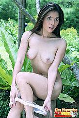 Pulling Panties Down Nice Breasts