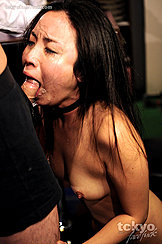 Patron Face Fucking Anna Sakura In Bar Small Tits