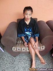 Seated Cross Legged On Chair Bare Feet