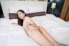 Nude On Bed Spreading Her Ass